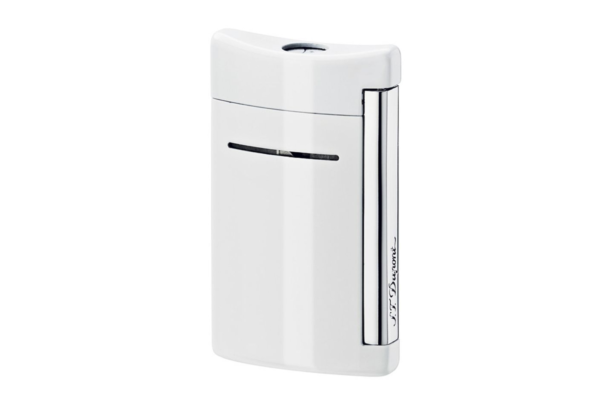 S.T. Dupont MiniJet White Lighter