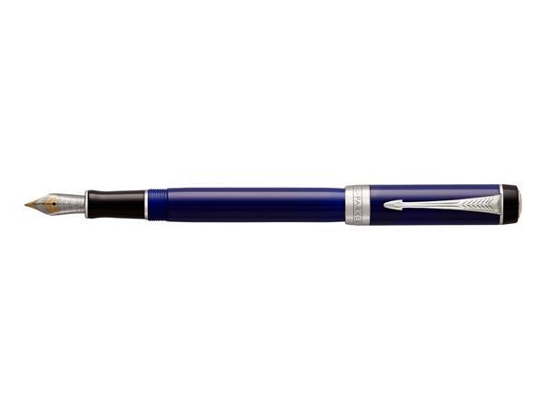 Parker Duofold Classic Blue & Black International Vulpen