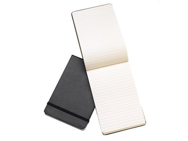 Moleskine Reporter Ruled Hardcover Notebook Pocket Black