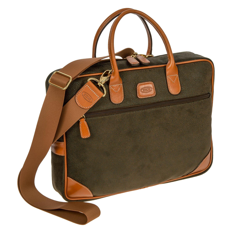 Brics briefcase Life color olive