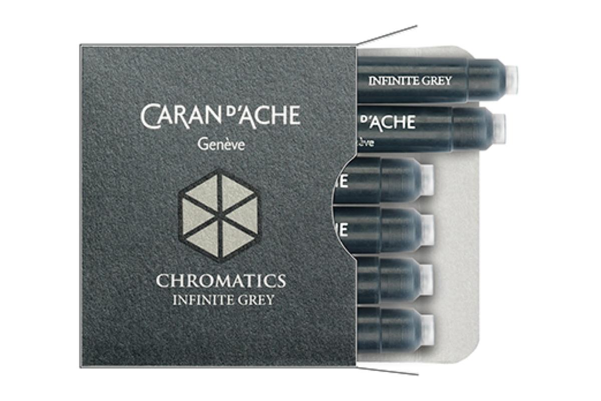 Caran d'Ache Inktpatronen Infinite Grey