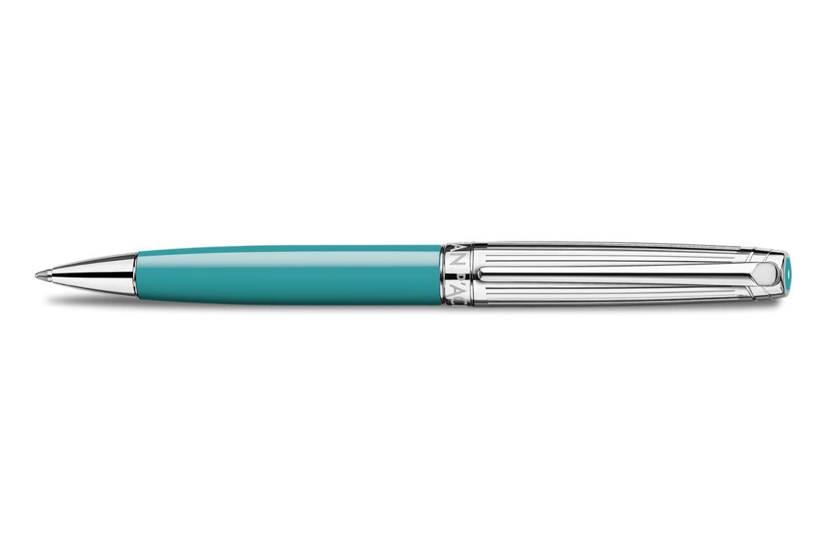 Caran d'Ache Léman Bicolor Turquoise Balpen