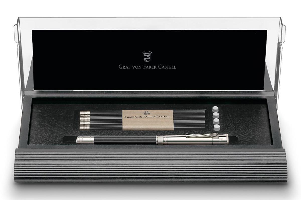 Graf von Faber-Castell Perfect Pencil Desk Set Zwart