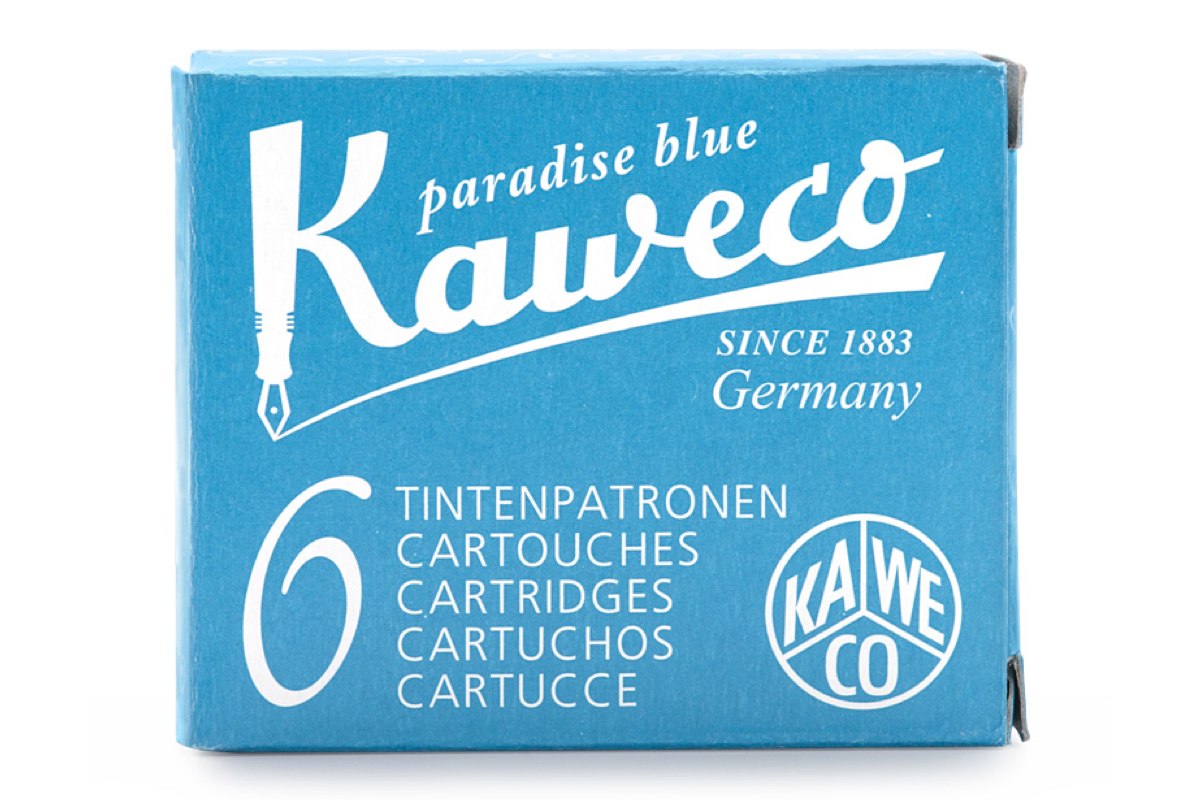 Kaweco Ink Cartridges Turquoise
