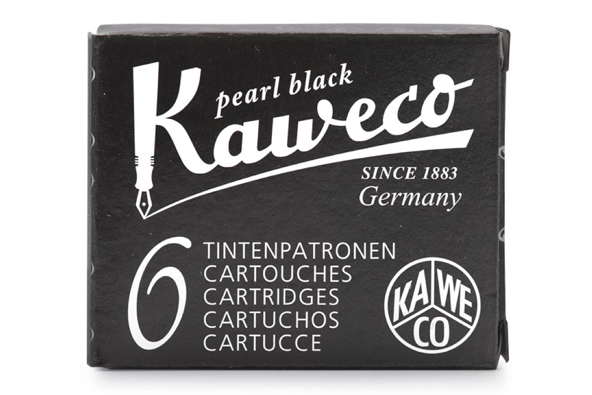 Kaweco Inktpatronen Pearl Black