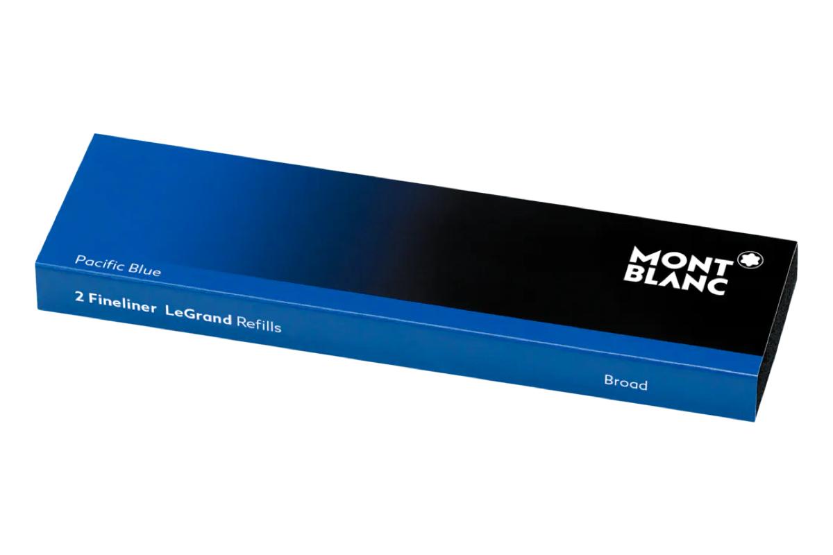 Montblanc LeGrand Finelinervullingen Royal Blue