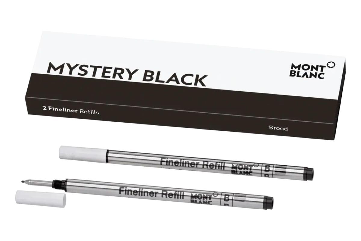 Montblanc Finelinervullingen Mystery Black Broad