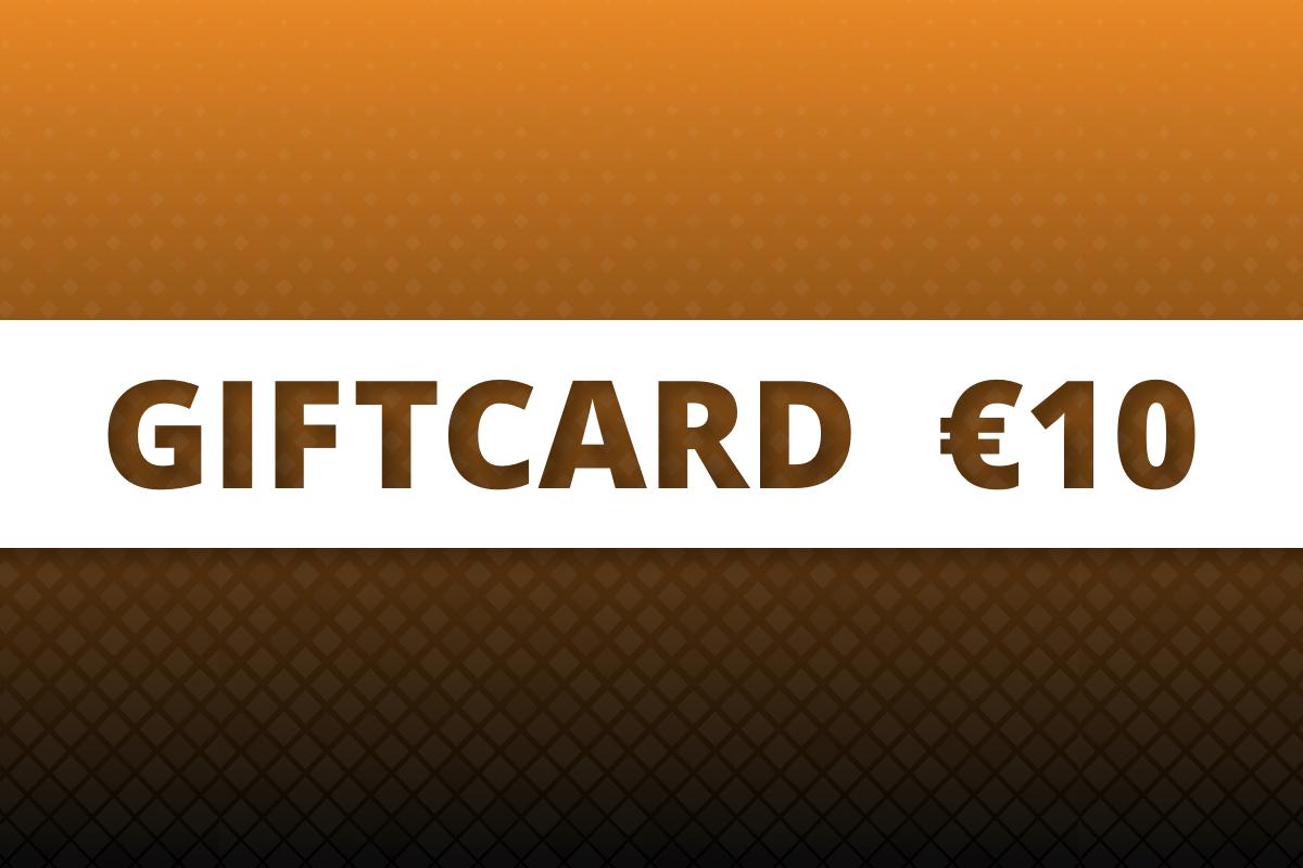 P.W. Akkerman Giftcard €10