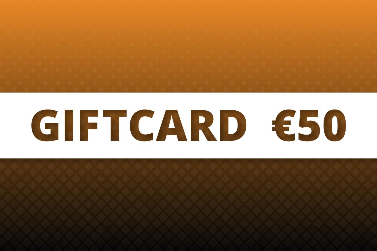 P.W. Akkerman Giftcard €50