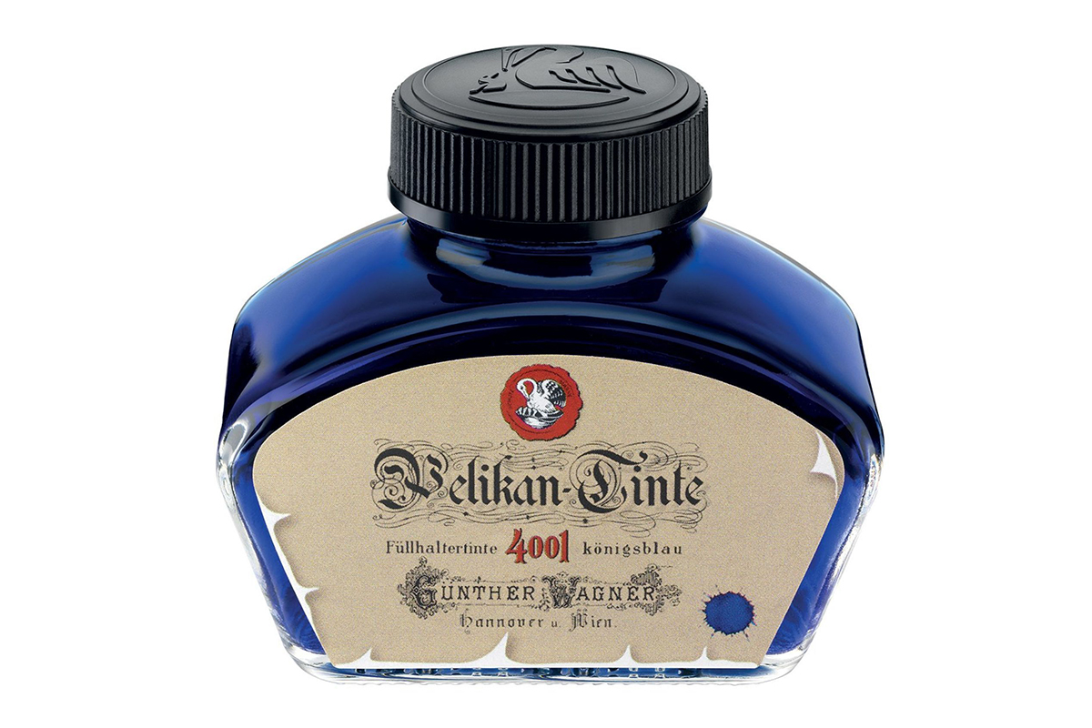 Pelikan 4001 Inkt Historic Koningsblauw (62,5 ml)