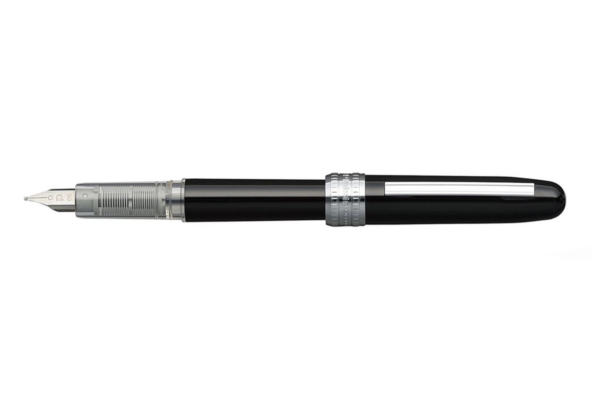 Platinum Plaisir Black Fountain Pen