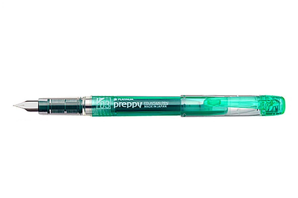 Platinum Preppy Green Vulpen