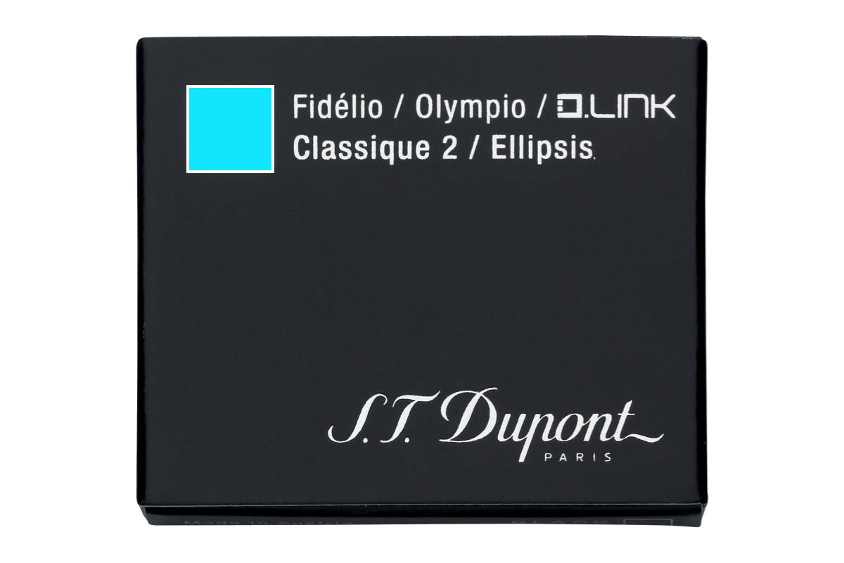 S.T. Dupont Inktpatronen Turquoise