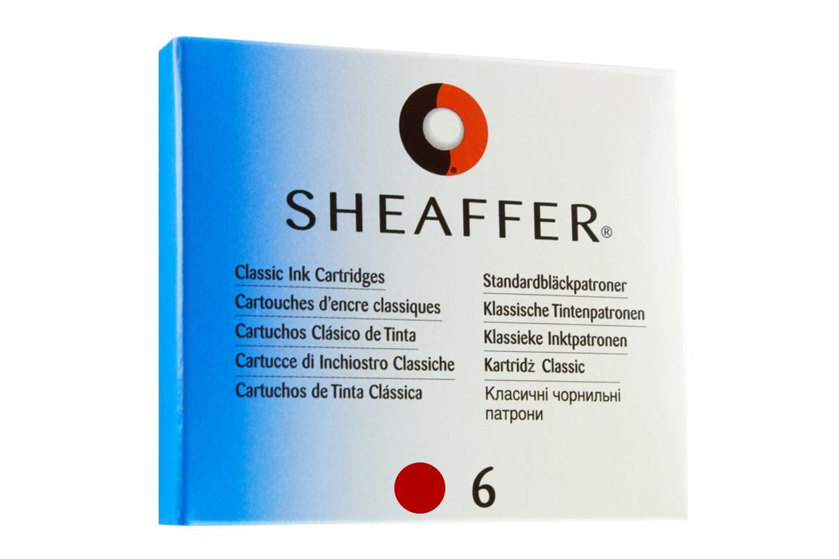Sheaffer Inktpatronen Rood