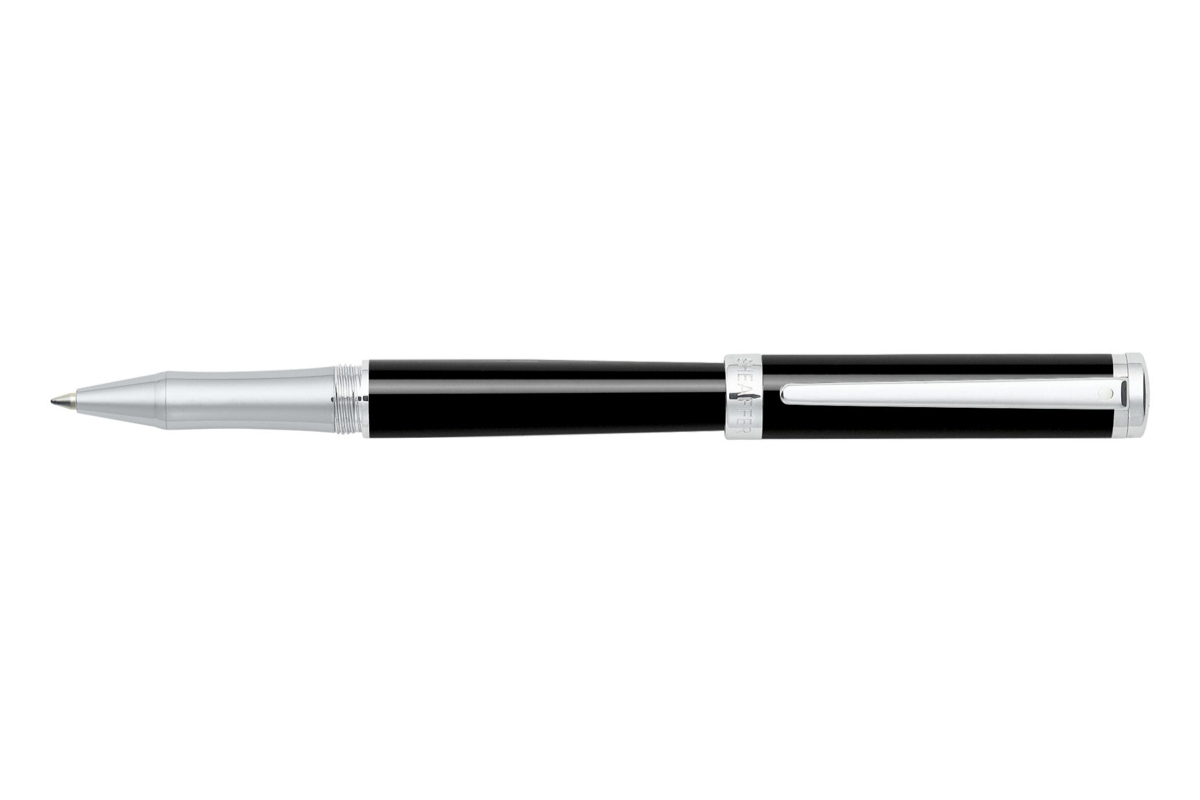 Sheaffer Intensity Onyx Black Chrome Trim Rollerbal
