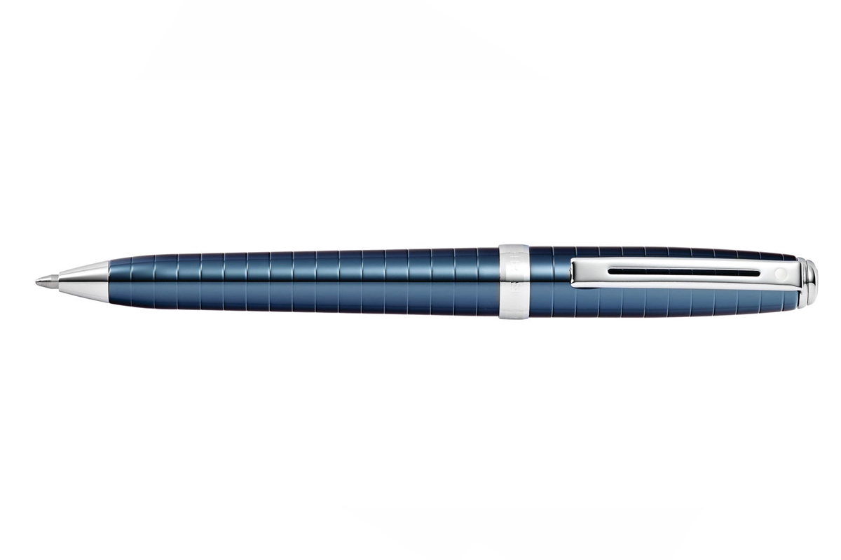 Sheaffer Prelude Deep Blue Engraved Lacquer Balpen