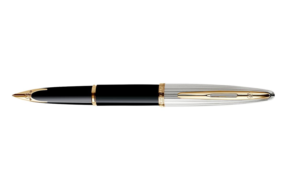 Waterman Carène Deluxe Black/Silver Fountain Pen