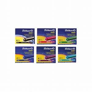 Pelikan Inktpatroon Verkrijgbaar in 6 Kleuren