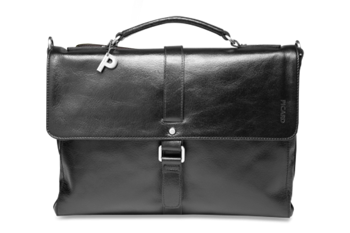 Picard Buddy Black Briefcase